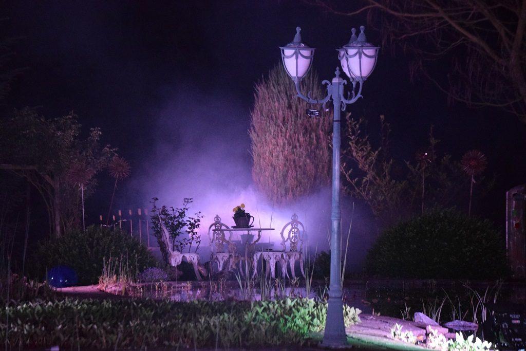 Violette Lichteffekte