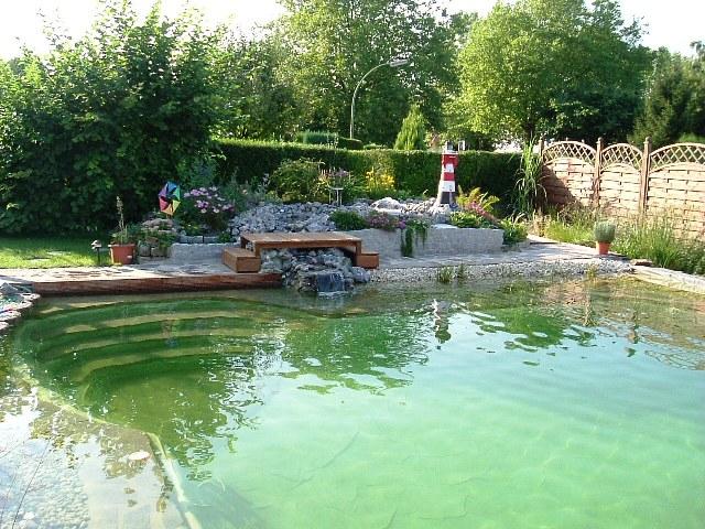 Teich und Garten