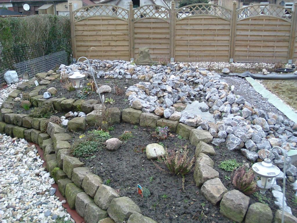 Angehängter Garten