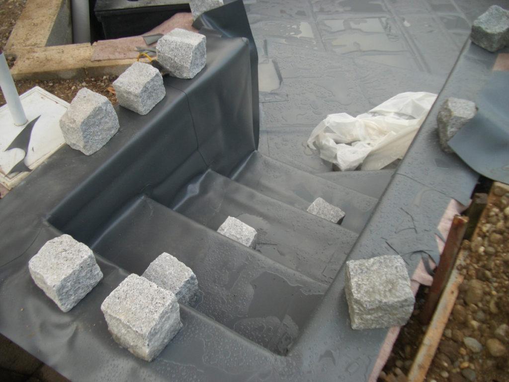 Baustelle Treppe
