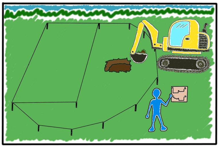 Teichbau durch Mielke 4