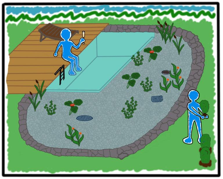 Teichbau durch Mielke 9